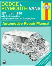Dodge & Plymouth Vans Automotive Repair Manual