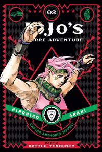 JoJo's Bizarre Adventure: Part 2--Battle Tendency, Vol. 3 (3)