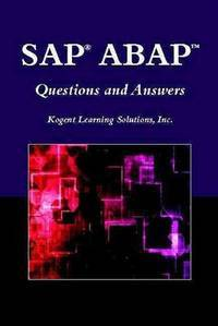 SAP ABAP questions and answers. (The Jones & Bartlett Publishers SAP book series)