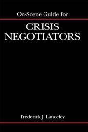 ON SCENE GUIDE FOR CRISIS NEGOTIATORS
