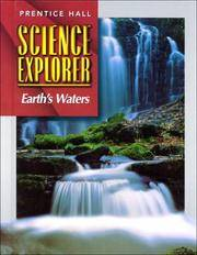 SCI EXPLORER EARTH'S WATERS SE FIRST EDITION 2000C (Prentice Hall science explorer)
