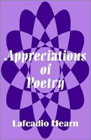 Appreciations Of Poetry