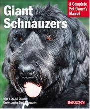 Giant Schnauzers : A Complete Pet Owner's Manual