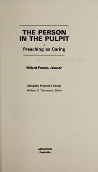 The Person in the Pulpit