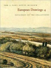 European Drawings: Catalogue of the Collections (ART)