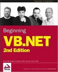 BEGINNING VB. NET 2/E