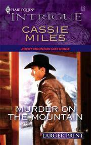 image of Murder On The Mountain (Harlequin Large Print Intrigue)