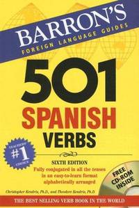 501 Spanish Verbs: with CD-ROM (Barron's Foreign Language Guides)