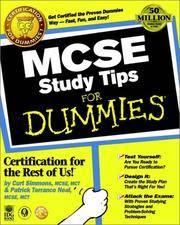 MCSE Study Tips for Dummies.