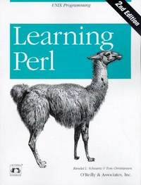Learning Perl (Nutshell Handbooks)