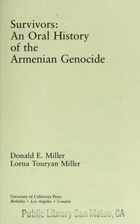 a history of the genocide and survival of the armenians