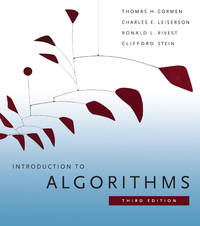 image of Introduction to Algorithms, 3rd ed.,
