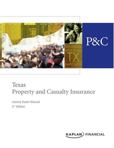 Kaplan Texas Property and Casualty Insurance State Law Supplement by Kaplan Financial Education. Paperback. $ (4 used & new offers) Property & Casualty Exam Practice Questions: P-C Practice Tests & Review for the Property & Casualty Insurance Exam Aug 5,