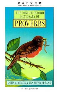 The Concise Oxford Dictionary Of Proverbs