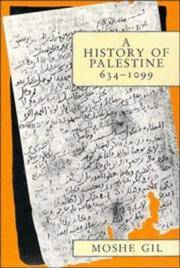 A History of Palestine, 634-1099 by Moshe Gil - Paperback - 1997 - from Commonwealth Books and Biblio.com
