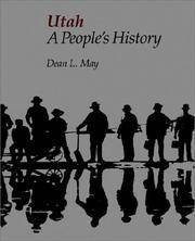 UTAH A PEOPLE'S HISTORY (BONNEVILLE BOOKS)