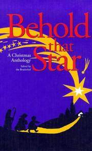 https://www.biblio.com/book/behold-star-christmas-anthology ... on