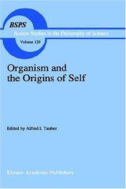 Organism and the Origins of Self (Boston Studies in the Philosophy and History of Science)