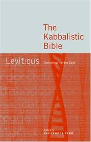 The Kabbalistic Bible: Leviticus.