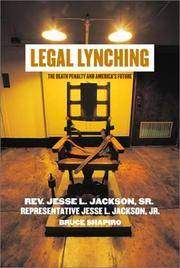 Legal Lynching:  The Death Penalty and America's Future [Rev. ]