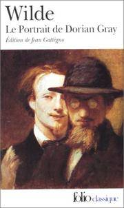 image of Portrait de Dorian Gray (Folio (Gallimard)) (French Edition)