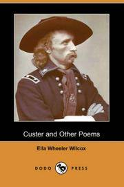 image of Custer and Other Poems (Dodo Press)