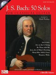 image of J.s. Bach - 50 Solos for Classical Guitar