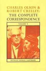 The Complete Correspondence Of Charles Olson  Robert Creeley