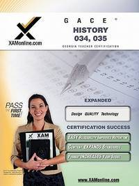 GACE History 034, 035 Teacher Certification Test Prep Study Guide (XAMonline Teacher...