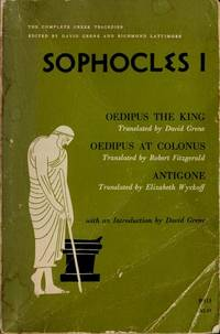 Sophocles I : Oedipus the King,Oedipus at Colonus and Antigone. by Sophocles - Paperback - 1976 - from KALAMOS BOOKS and Biblio.com