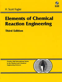 image of Elements Of Chemical Reaction Engineering