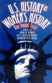 U.S. HISTORY AS WOMEN'S HISTORY   (NEW FEMINIST ESSAYS)