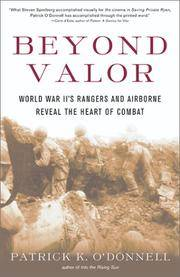 image of Beyond Valor: World War II's Ranger and Airborne Veterans Reveal the Heart of Combat