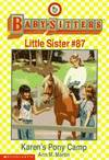 image of Karen's Puppet Show: Baby-Sitters Little Sister #88 [babysitters]