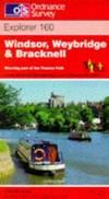 image of Windsor, Weybridge and Bracknell (Explorer Maps)