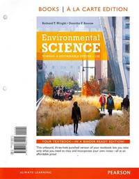image of Environmental Science: Toward a Sustainable Future, Books a la Carte Plus MasteringEnvironmentalScience with eText -- Access Card Package (12th Edition)