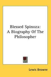 Blessed Spinoza