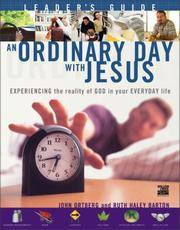 An Ordinary Day with Jesus (Leader's Guide)