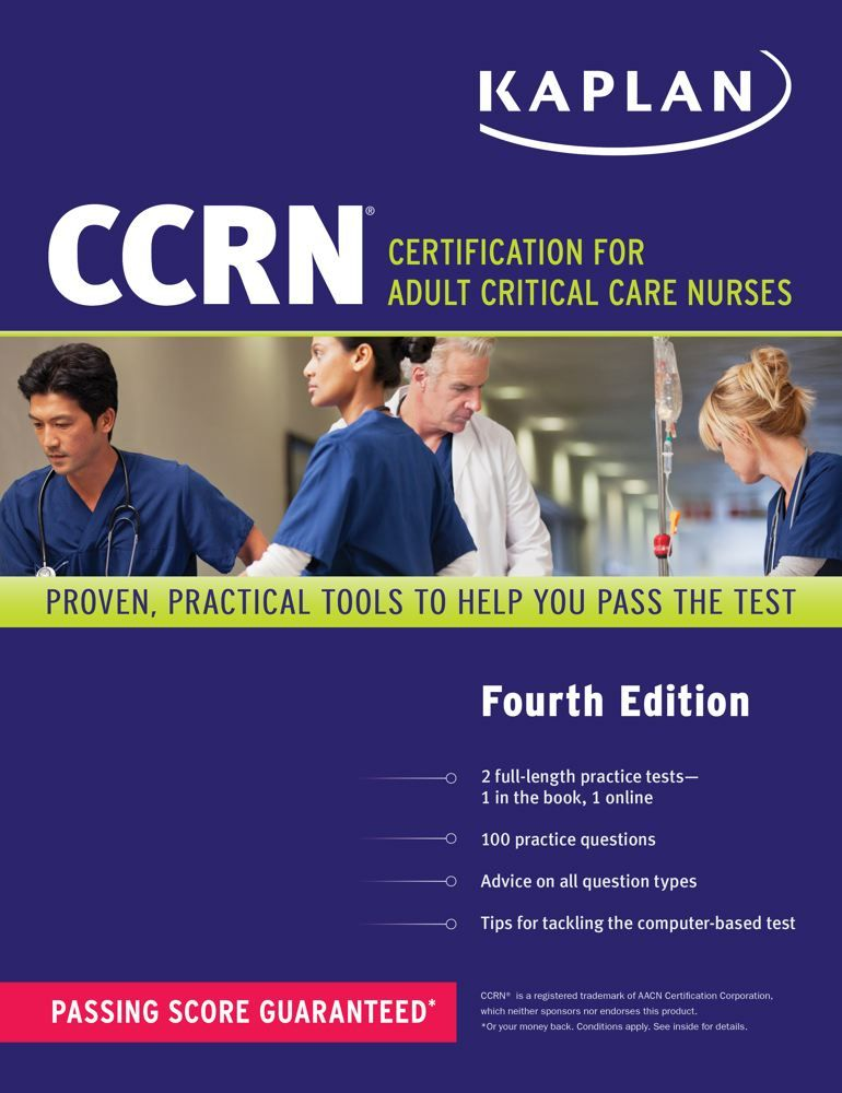 9781609788858 Ccrn Certification For Adult Critical Care Nurses