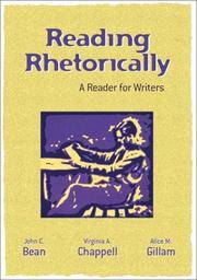Reading Rhetorically (A Reader For Writers)