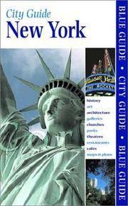 Blue Book City Guide New York