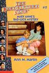 image of Mary Anne's Bad-Luck Mystery (Baby-Sitters Club)