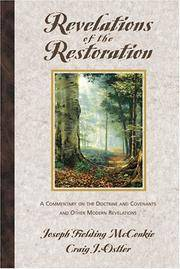 Revelations of the Restoration