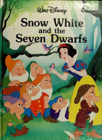 Snow White and the Seven Dwarfs by Walt Disney - from Better World Books  and Biblio com