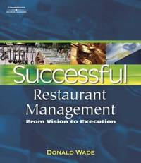 Successful Restaurant Management: From Vision to Execution (DECA)