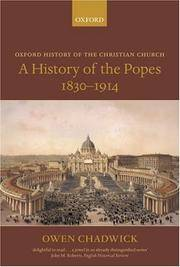 image of A History of the Popes 1830-1914 (Paperback)