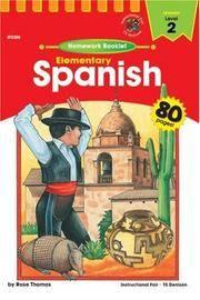 Spanish: Elementary Level 2: Homework Booklet