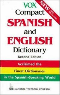 Vox Compact Spanish and English Dictionary by Vox - from More Than Words Inc. (SKU: BOS-F-09c-01075)