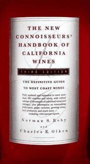 The New Connoisseurs' Handbook of California Wines