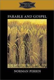 Parable and Gospel (Fortress Classics in Biblical Studies)